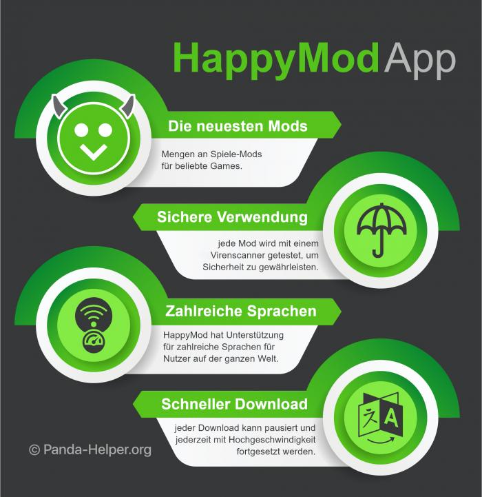 HappyMod app german