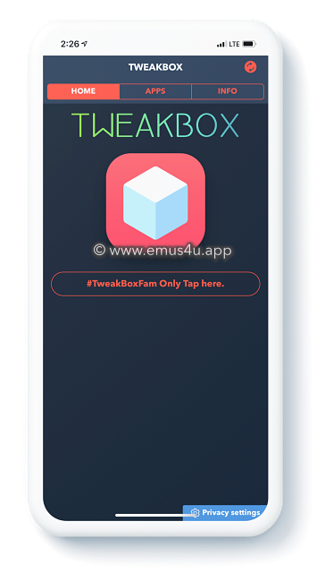 tweakbox app iphone